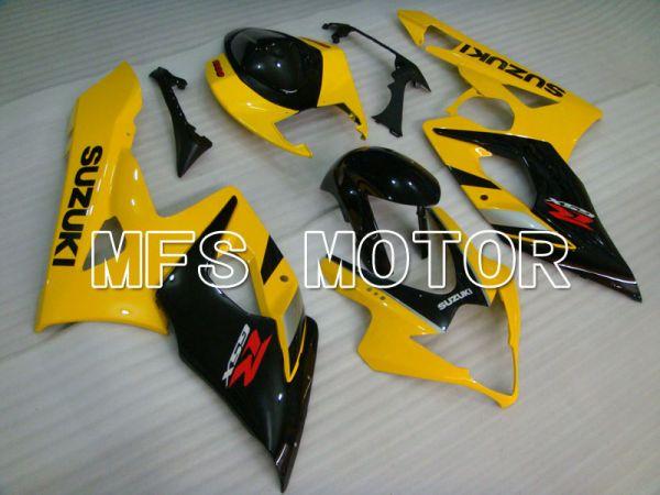 Suzuki GSXR1000 2005-2006 Injection ABS Fairing - Factory Style - Black Yellow - MFS2639