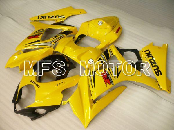 Suzuki GSXR1000 2007-2008 Injection ABS Fairing - Factory Style - Yellow - MFS2672