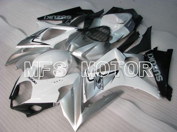 Suzuki GSXR1000 2007-2008 Injection ABS Fairing - Factory Style - White Silver - MFS2674