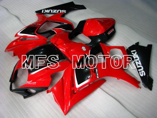 Suzuki GSXR1000 2007-2008 Injection ABS Fairing - Factory Style - Black Red - MFS2675