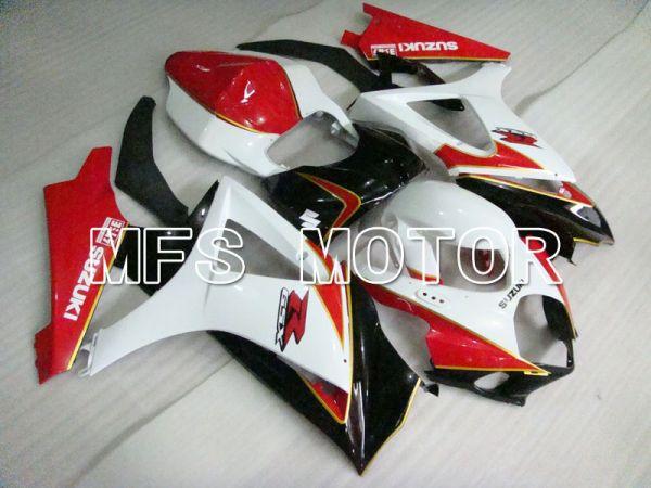 Suzuki GSXR1000 2007-2008 Injection ABS Fairing - Factory Style - Black Red White - MFS2687