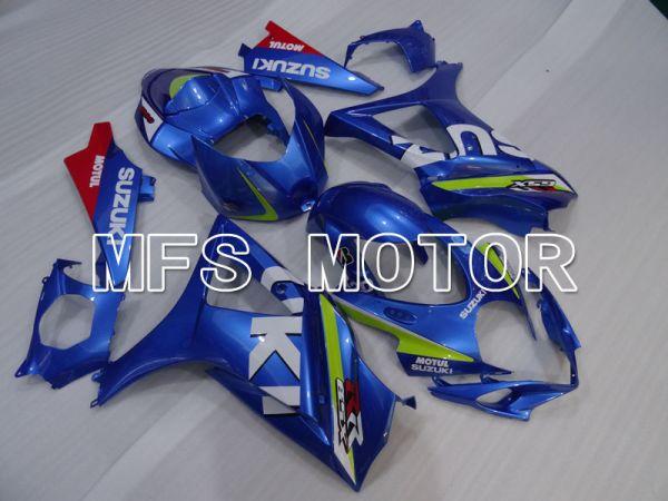 Suzuki GSXR1000 2007-2008 Injection ABS Fairing - MOTUL - Blue - MFS2691