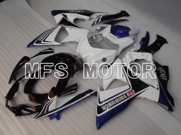 Suzuki GSXR1000 2009-2016 Injection ABS Fairing - YOSHIMURA - Black White Blue - MFS2719