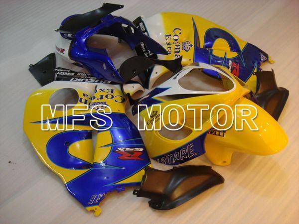 Suzuki GSXR1300 Hayabusa 1999-2007 Injection ABS Fairing - Corona - Yellow Blue - MFS2770