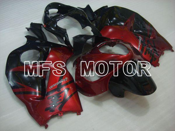 Suzuki GSXR1300 Hayabusa 1999-2007 Injection ABS Fairing - Factory Style - Black Red - MFS2778
