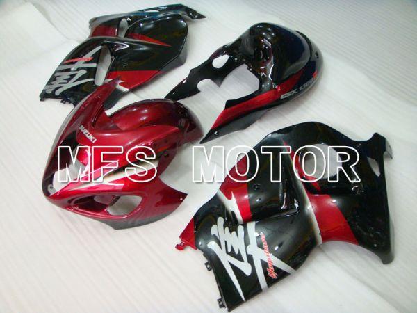 Suzuki GSXR1300 Hayabusa 1999-2007 Injection ABS Fairing - Factory Style - Black Red - MFS2783