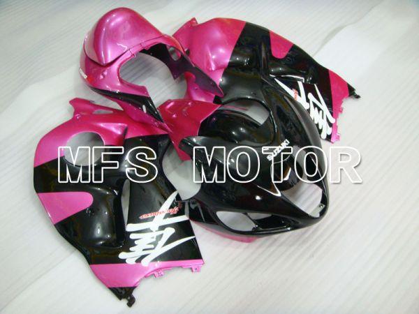 Suzuki GSXR1300 Hayabusa 1999-2007 Injection ABS Fairing - Factory Style - Black Pink - MFS2789