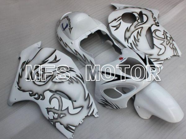 Suzuki GSXR1300 Hayabusa 1999-2007 Injection ABS Fairing - Customize - White - MFS2793