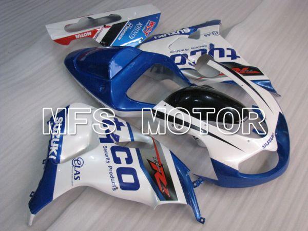 Suzuki TL1000R 1998-2003 Injection ABS Fairing - tyco - Blue White - MFS2823