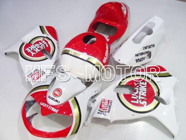 Suzuki TL1000R 1998-2003 Injection ABS Fairing - Lucky Strike - Red White - MFS2834