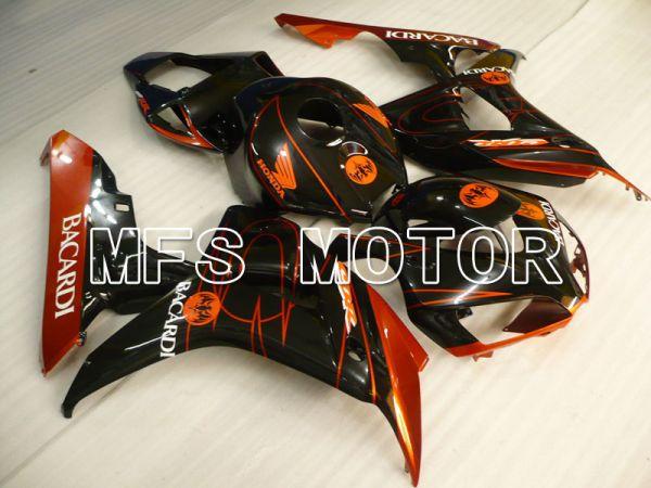 Honda CBR1000RR 2006-2007 Injection ABS Fairing - BACARDI - Black Orange - MFS2862