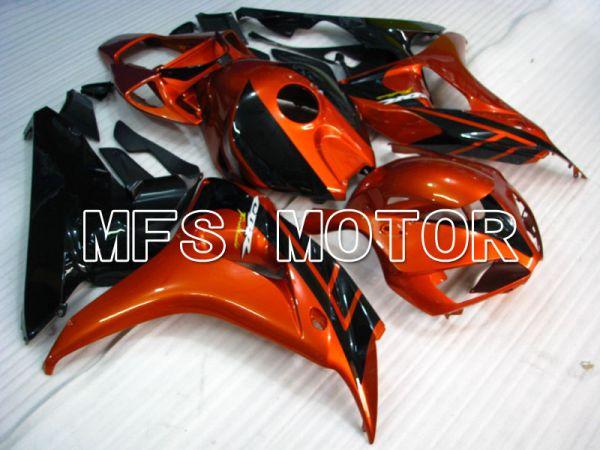Honda CBR1000RR 2006-2007 Injection ABS Fairing - Factory Style - Black Orange - MFS2872
