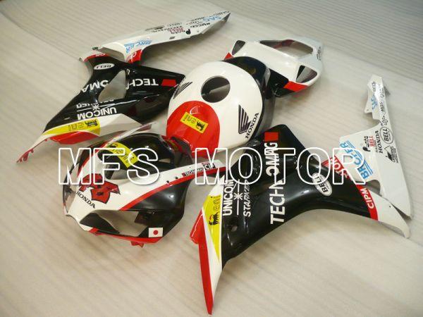 Honda CBR1000RR 2006-2007 Injection ABS Fairing - Others - Black White - MFS2893