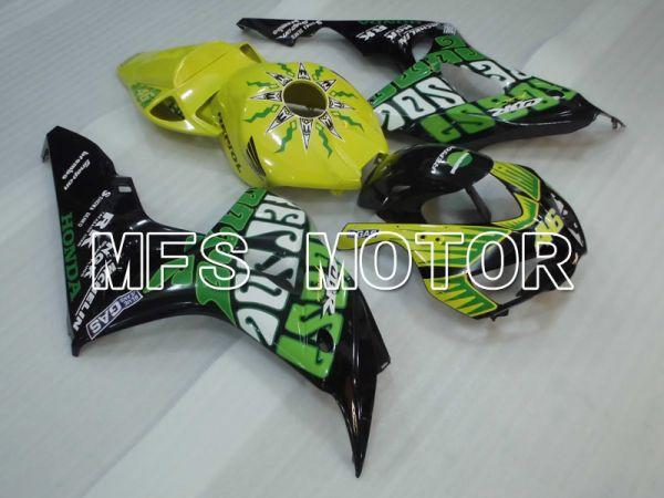Honda CBR1000RR 2006-2007 Injection ABS Fairing - Others - Green Yellow Black - MFS2909