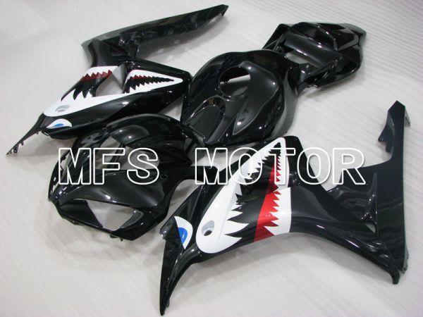 Honda CBR1000RR 2006-2007 Injection ABS Fairing - Shark - Black - MFS2913
