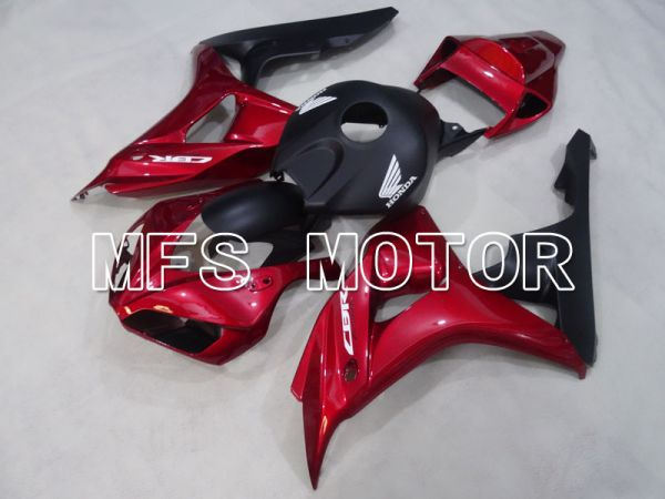 Honda CBR1000RR 2006-2007 Injection ABS Fairing - Factory Style - Black Red - MFS2914