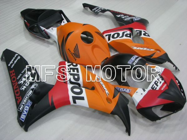 Honda CBR1000RR 2006-2007 Injection ABS Fairing - Repsol - Orange Red Black - MFS2925
