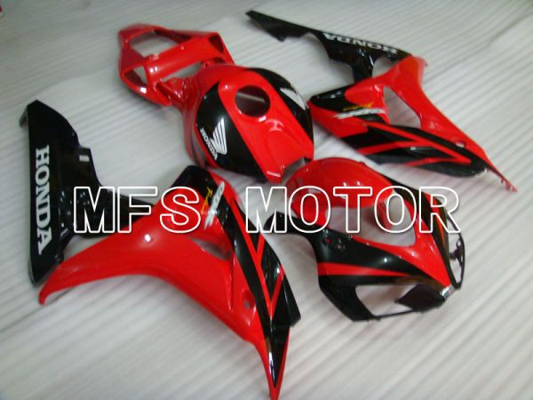 Honda CBR1000RR 2006-2007 Injection ABS Fairing - Factory Style - Black Red - MFS2935