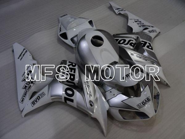 Honda CBR1000RR 2006-2007 Injection ABS Fairing - Repsol - White Silver - MFS2936
