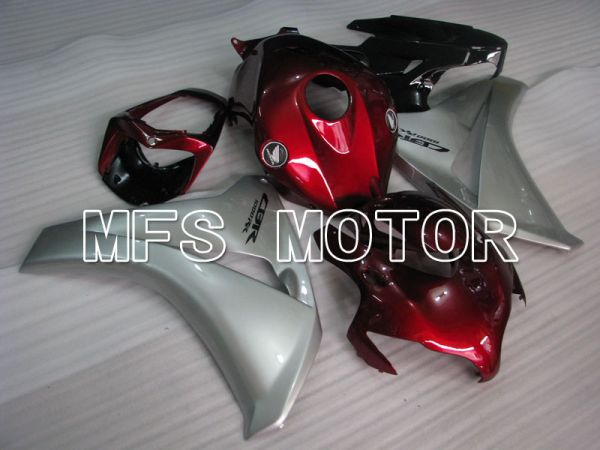 Honda CBR1000RR 2008-2011 Injection ABS Fairing - Factory Style - Red Silver - MFS2944