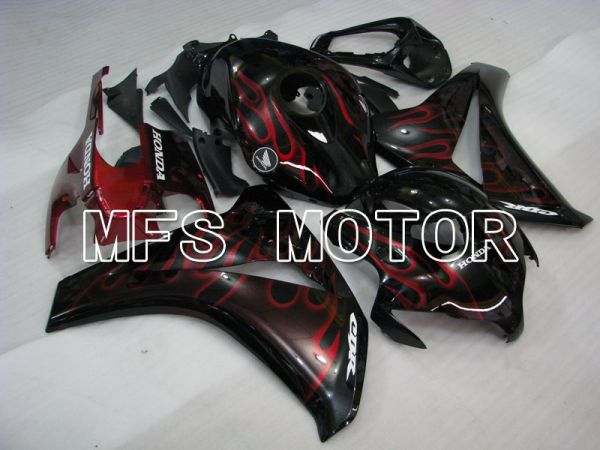 Honda CBR1000RR 2008-2011 Injection ABS Fairing - Flame - Red Black - MFS2948