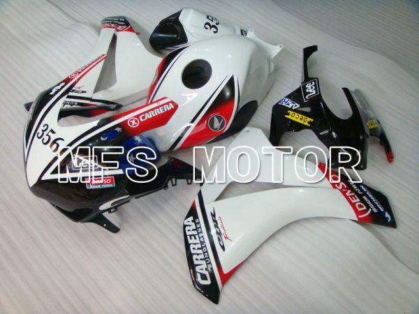 Honda CBR1000RR 2008-2011 Injection ABS Fairing - CARRERA - Black White - MFS2952