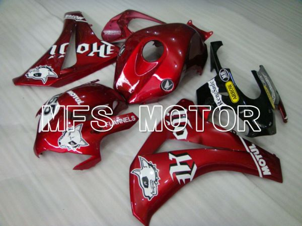 Honda CBR1000RR 2008-2011 Injection ABS Fairing - FLANNELS - Red - MFS2964