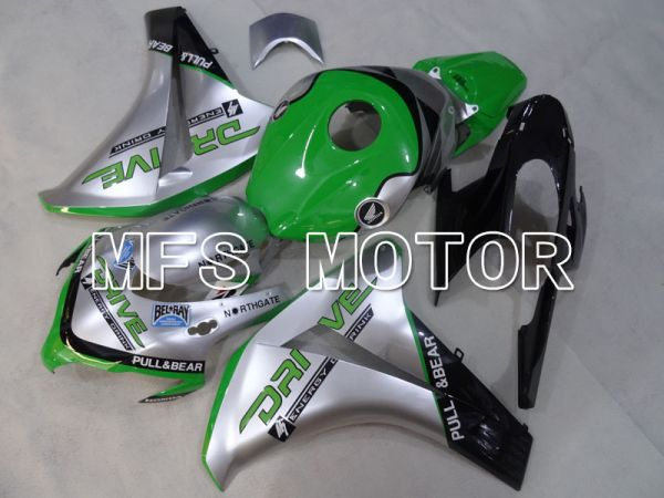Honda CBR1000RR 2008-2011 Injection ABS Fairing - DRIVE - Green Silver - MFS2983