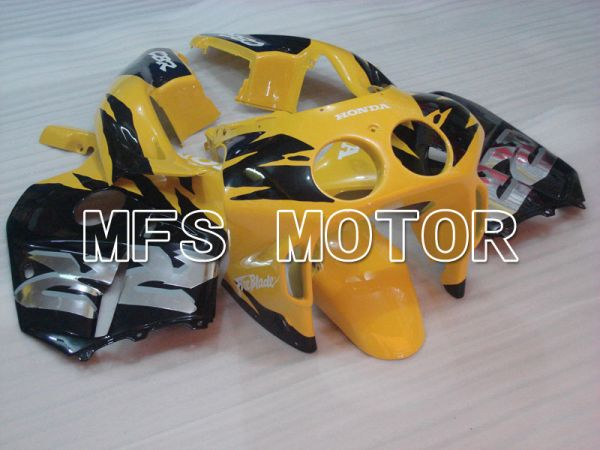Honda CBR250RR 1990-1994 Injection ABS Fairing - Factory Style - Black Yellow - MFS3023