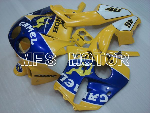 Honda CBR250RR 1990-1994 Injection ABS Fairing - Camel - Blue Yellow - MFS3026