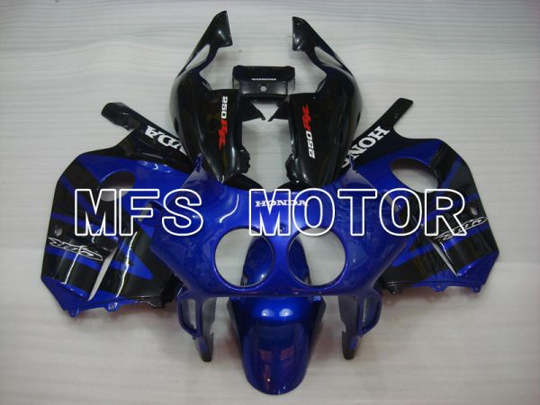 Honda CBR250RR 1990-1994 Injection ABS Fairing - Factory Style - Black Blue - MFS3028