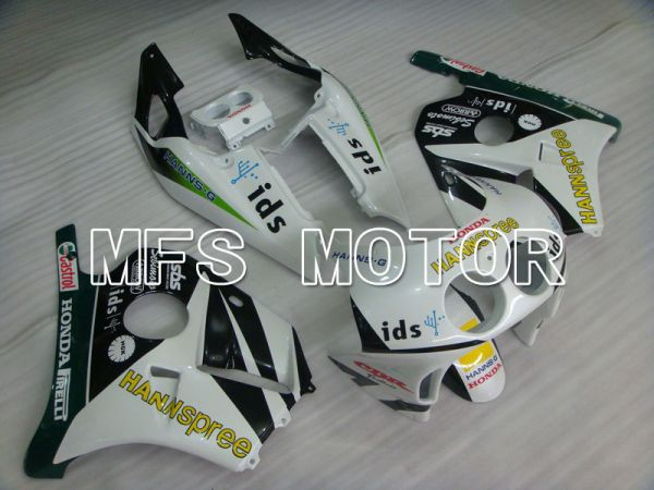 Honda CBR250RR 1990-1994 Injection ABS Fairing - HANN Spree - Black White - MFS3030