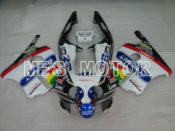 Honda CBR250RR 1990-1994 Injection ABS Fairing - Eurobet - Black White - MFS3031