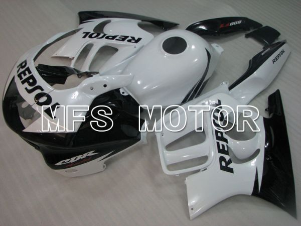 Honda CBR600 F3 1997-1998 Injection ABS Fairing - Repsol - Black White - MFS3060