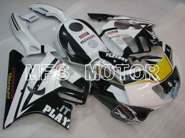Honda CBR600 F3 1997-1998 Injection ABS Fairing - PlayBoy - Black White - MFS3061