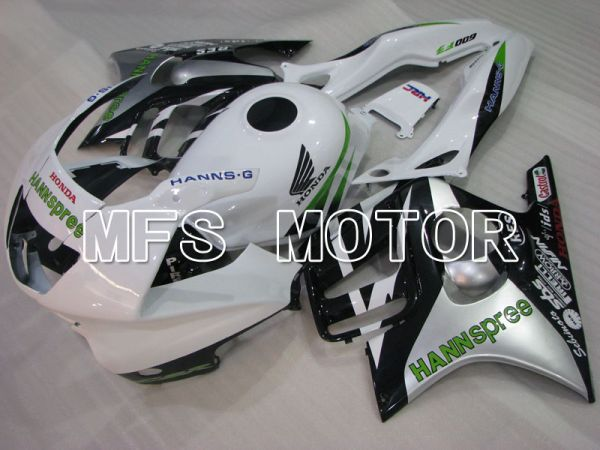 Honda CBR600 F3 1997-1998 Injection ABS Fairing - HANN Spree - Black White - MFS3062