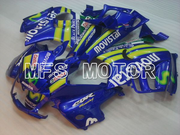 Honda CBR600 F3 1995-1996 Injection ABS Fairing - Movistar - Blue - MFS3043