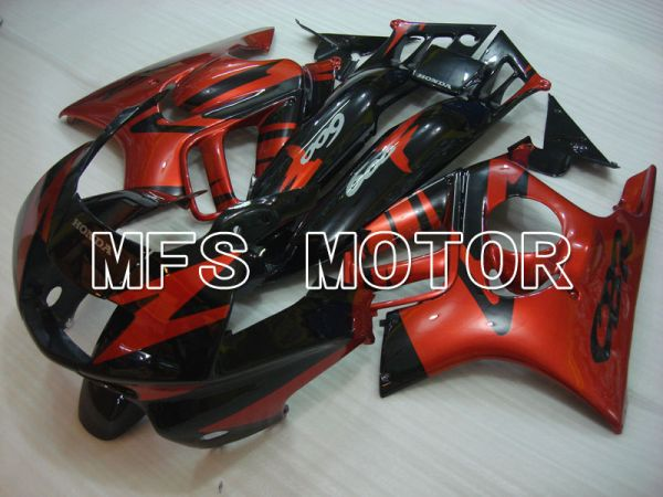 Honda CBR600 F3 1997-1998 Injection ABS Fairing - Factory Style - Black Red - MFS3068