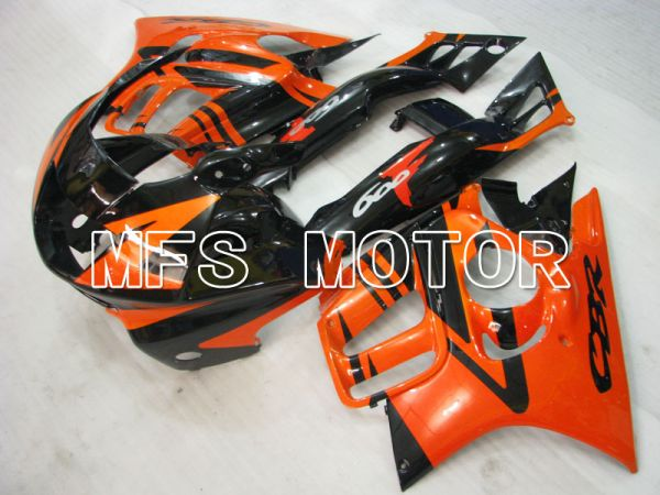Honda CBR600 F3 1997-1998 Injection ABS Fairing - Factory Style - Black Orange - MFS3073