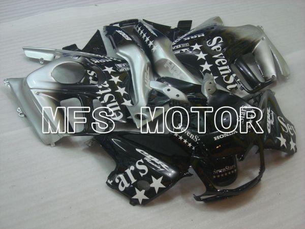Honda CBR600 F3 1995-1996 Injection ABS Fairing - SevenStars - Black Silver - MFS3056