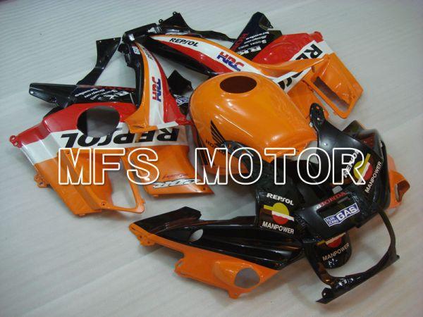 Honda CBR600 F2 1991-1994 ABS Fairing - Repsol - Black Orange Red - MFS3080
