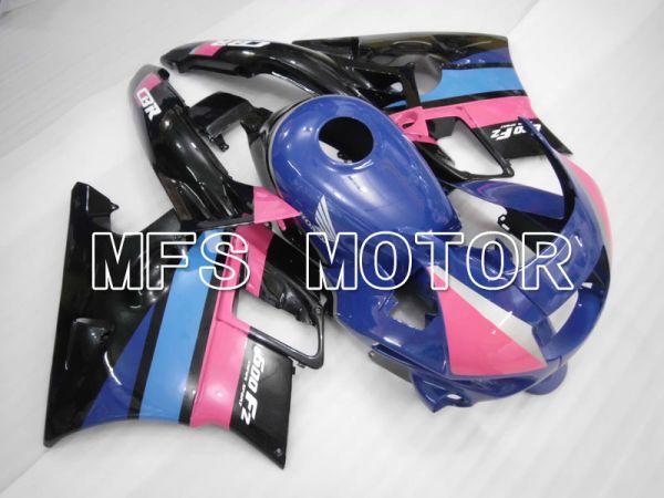 Honda CBR600 F2 1991-1994 ABS Fairing - Factory Style - Black Blue Pink - MFS3101