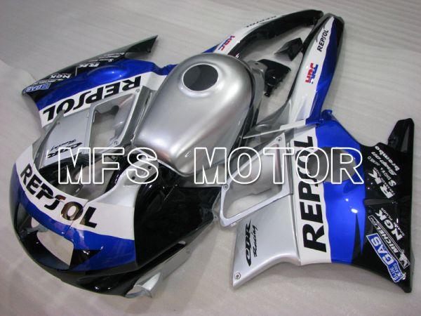 Honda CBR600 F2 1991-1994 ABS Fairing - Repsol - Silver - MFS3105