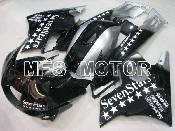 Honda CBR600 F2 1991-1994 ABS Fairing - SevenStars - Black Silver - MFS3116