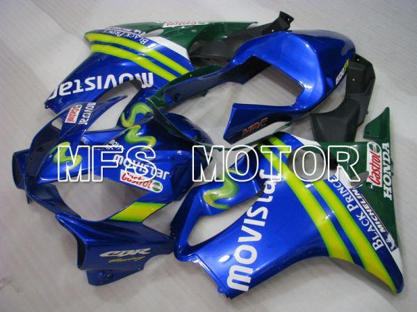 Honda CBR600 F4i 2001-2003 Injection ABS Fairing - Movistar - Blue - MFS3148