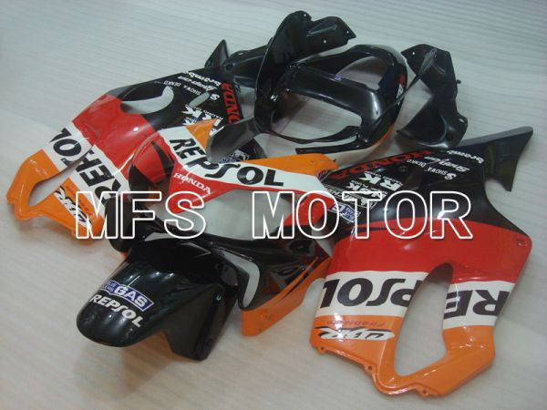 Honda CBR600 F4i 2001-2003 Injection ABS Fairing - Repsol - Black Orange Red - MFS3178