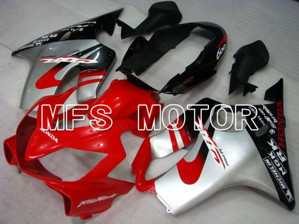 Honda CBR600 F4i 2004-2007 Injection ABS Fairing - Factory Style - Black Red Silver - MFS3183