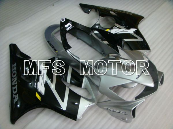 Honda CBR600 F4i 2004-2007 Injection ABS Fairing - Factory Style - Black Silver - MFS3184
