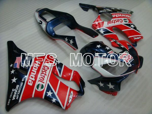 Honda CBR600 F4i 2004-2007 Injection ABS Fairing - Castrol - Blue Red - MFS3191
