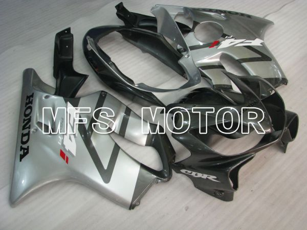 Honda CBR600 F4i 2004-2007 Injection ABS Fairing - Factory Style - Black Silver - MFS3196